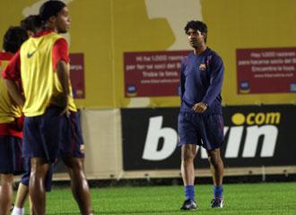El entrenador, en su etapa con el FC Barcelona