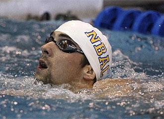 Phelps, tras la prueba