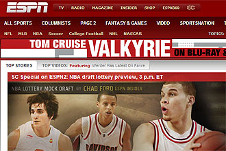 Ricky Rubio, en la portada de la ESPN