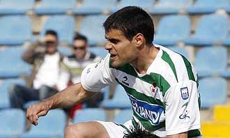 Carlos Rub�n durante un partido ante el Levante