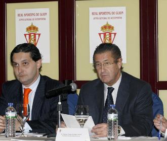 Manuel Vega Arango, presidente del Sporting