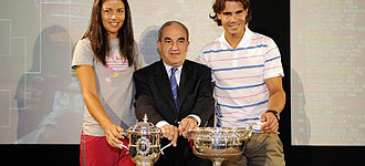 Ivanovic y Nadal