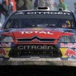 Loeb da un salto con el Citro�n C4.