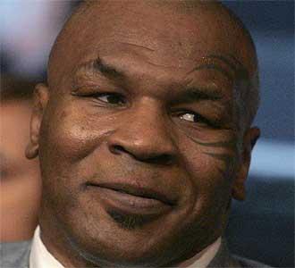 Mike Tyson, durante un acto promocional.