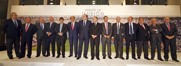 Florentino P�rez present� a su junta directiva.