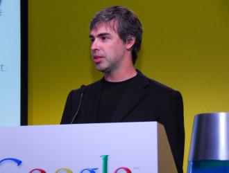 Larry Page, cofundador de Google.