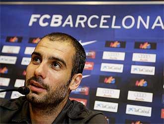 Guardiola habla este viernes para la prensa.