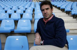 El t�cnico guipuzcoano Gonzalo Arconada.
