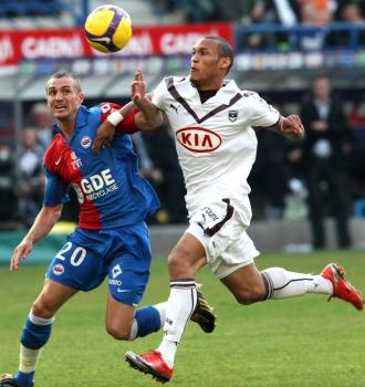 Gouffran fue el autor del gol de la victoria en el partido que le dio el campeonato al Girondins.