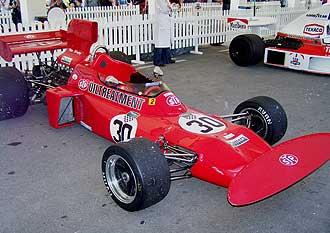 El famoso March con el que Ronnie Peterson consigui� grandes �xitos.