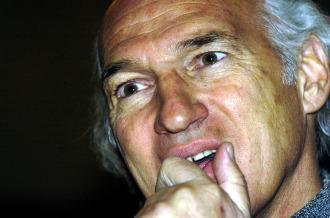 El t�cnico argentino Carlos Bianchi.
