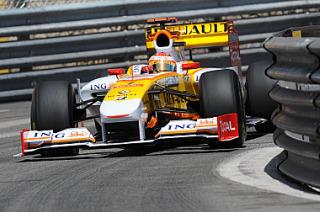 Alonso durante el reciente Gran Premio de M�naco