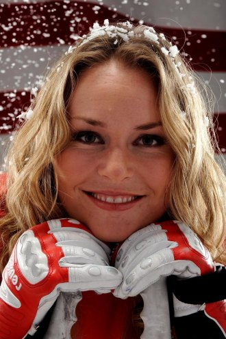 Lindsay Vonn posa para el Comit� Ol�mpico estadounidense