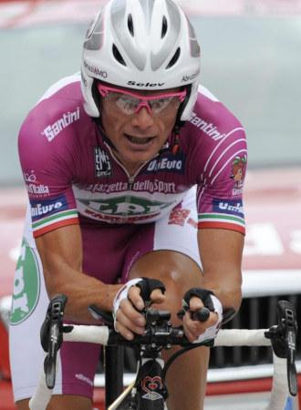 Di Luca en la contrarreloj de Roma del Giro del Centenario