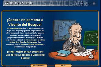 Vicente Del Bosque tiene dudas sobre qu� once sacar� ante Nueva Zelanda. ��chale una mano!