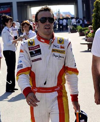 Fernando Alonso tras el Gran Premio de Turquía