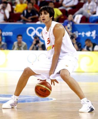Ricky durante los Juegos Ol�mpicos.