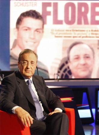Florentino habla sobre el Real Madrid.