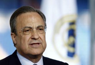 El presidente del Real Madrid, Florentino P�rez.