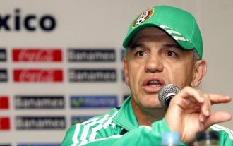 Aguirre, en rueda de prensa con M�xico.