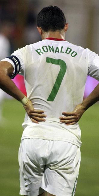 Cristiano Ronaldo, en un partido con Portugal.