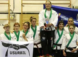El Judo Club Usurbil femenino