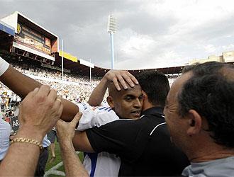 Ewerthon fue clave en el ascenso del Zaragoza.