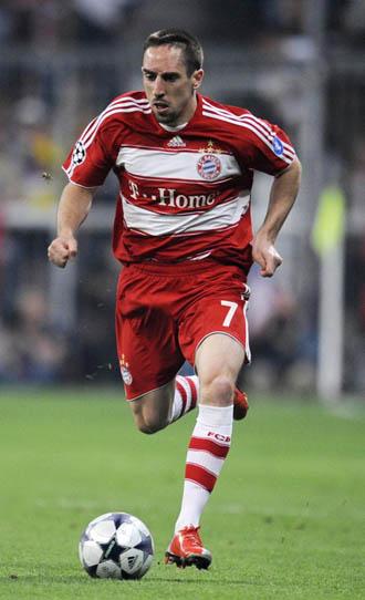 El Bayern se sube a la parra por Franck Ribery