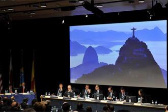 Presentaci�n de la candidatura de R�o de Janeiro en Lausana.