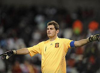 Casillas, en el punto de mira del United