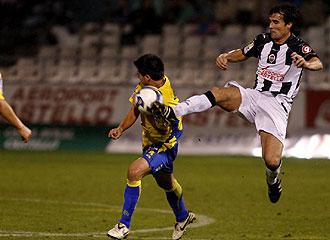 López Garai, durante un encuentro ante Las Palmas