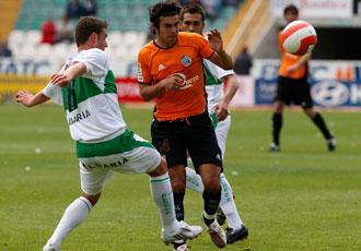 El centrocampista, listo para jugar con el Hércules
