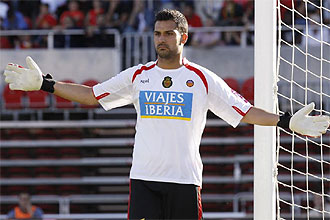 Miguel Ángel Moyá, portero del Mallorca