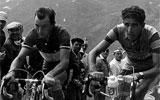 Charly Gaul y Federico Mart�n Bahamontes, mano a mano en el Tour 59