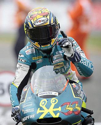 El piloto espa�ol Sergio Gadea.