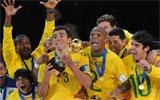 Brasil celebra la Copa Confederaciones