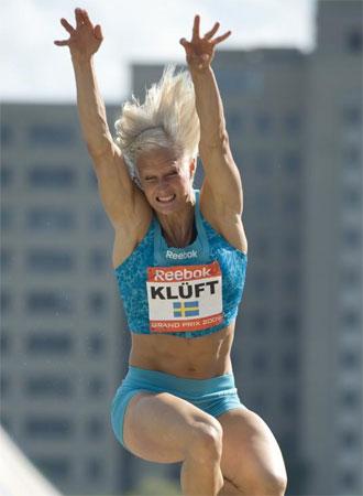 La atleta sueca competir�n en Arag�n.