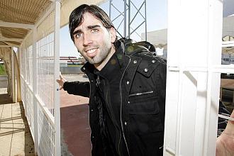 Crespo, en la Ciudad Deportiva del Sevilla