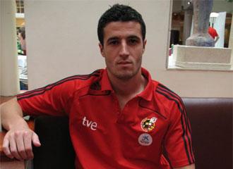 Iván Marcano, en la concentración de la Selección Española Sub-21