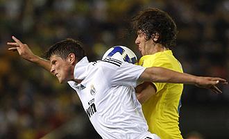 Huntelaar jugando con el Real Madrid