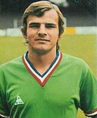 Georges Bereta, durante un partido con el Saint Etienne, en una imagen de archivo