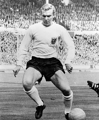 Bobby Moore, en una imagen de archivo con la selecci�n de Inglaterra