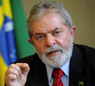Lula da Silva, en una rueda de prensa