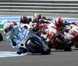 El piloto en el circuito de Jerez