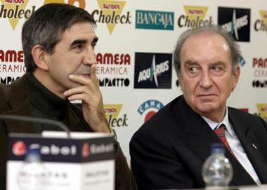 Jordi Bertomeu y Eduardo Portela