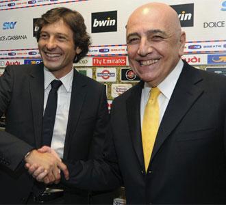 Adriano Galliani, en la presentación de Leonardo como nuevo técnico del Milán