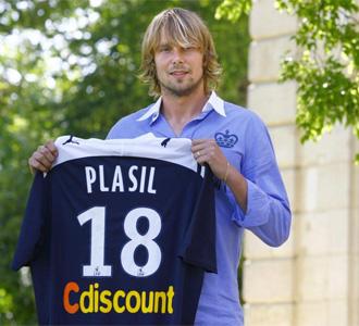 Plasil ya ha sido presentado por el Girondins