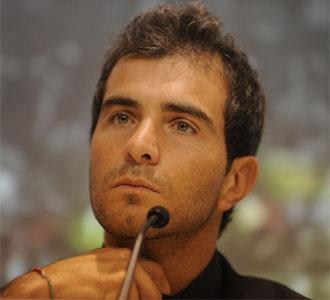 Enzo Maresca, en la rueda de prensa de su despedida del Sevilla