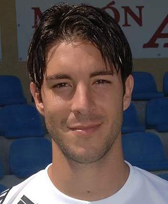 Álvaro, en su presentación con el Ceuta hace dos temporadas.
