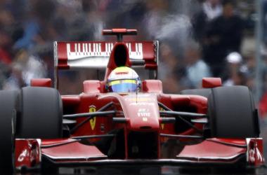 Felipe Massa, en Nurburgring.